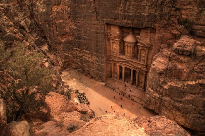 Day Trip to Petra in Jordan by boat