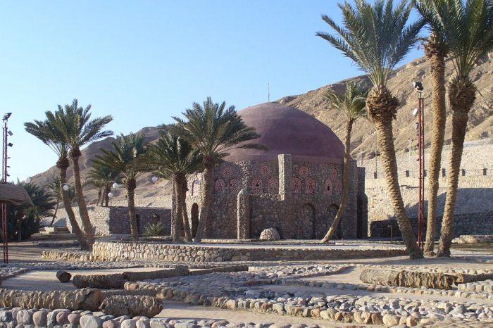 Ванны Моисея, церковь Св.Георгия