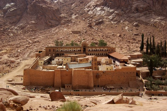 Mонастырь Cвятой Екатерины из Шарм-эль-Шейха