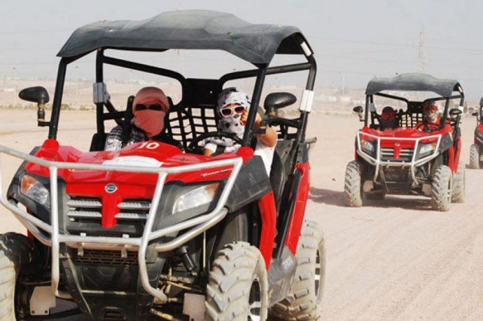 Escursione con le Dune Buggy Safari nel Deserto
