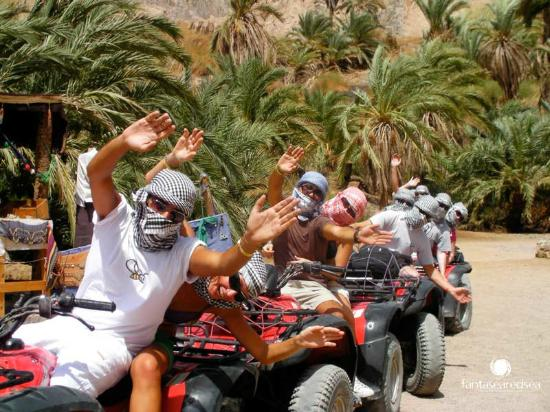 Quad Safari fahren in Sharm El Sheikh