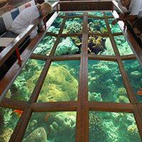 Лодка со стеклянным дном в Шарм-эль-Шейх