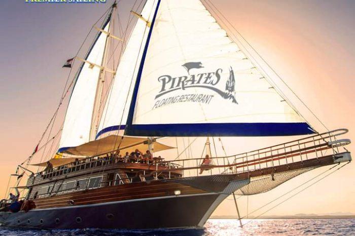 «парусная яхта» — морская прогулка из Шарм-эль-Шейх