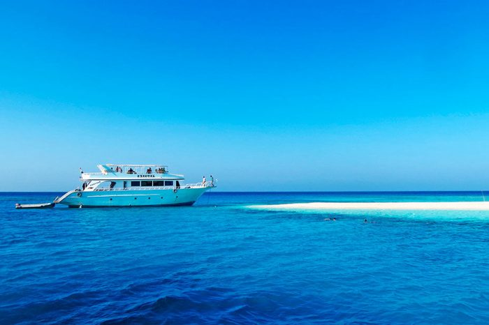 Ras Mohamed National Park+White island by Boat, Red Sea